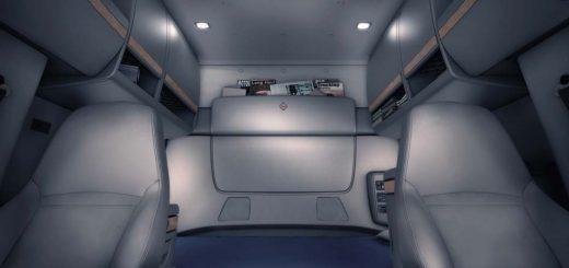 mantener cabina del camión de carga limpia