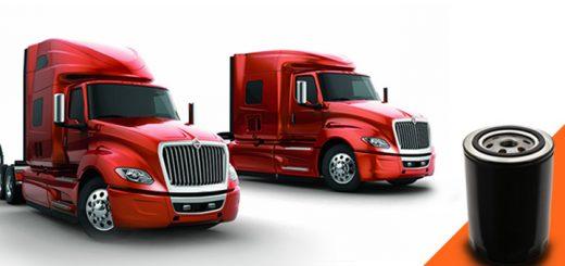 repuesto filtro aceite international camiones